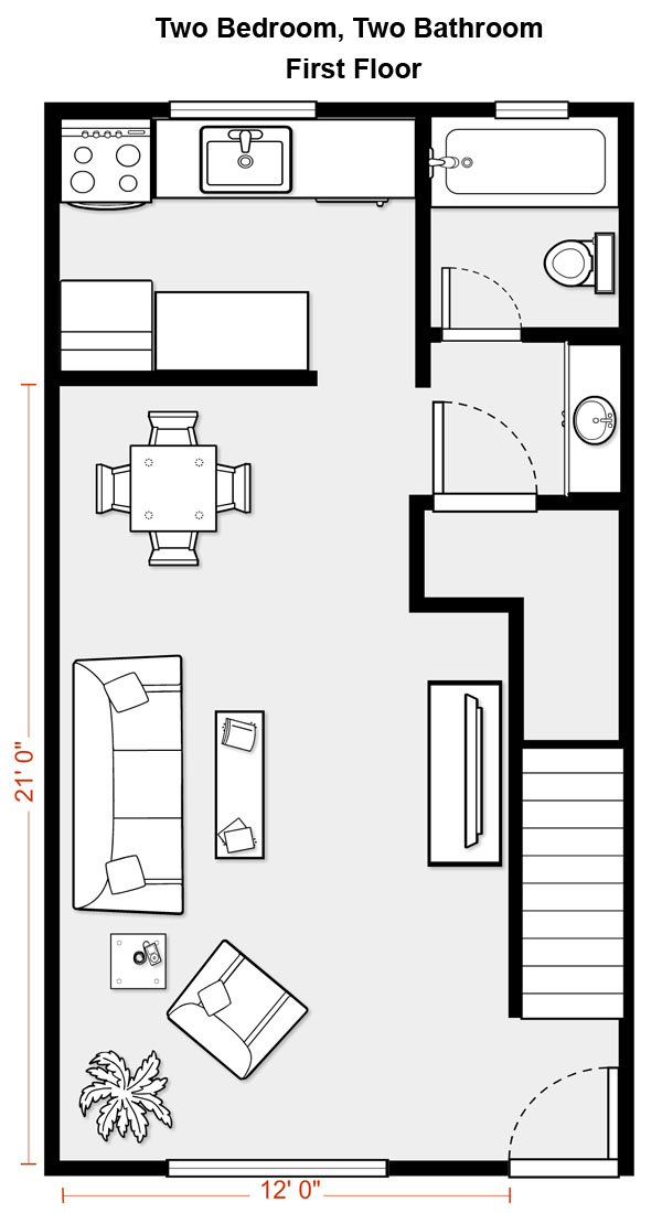 Floor plans of aspen gate 39 s suites Bedroom addition floor plans