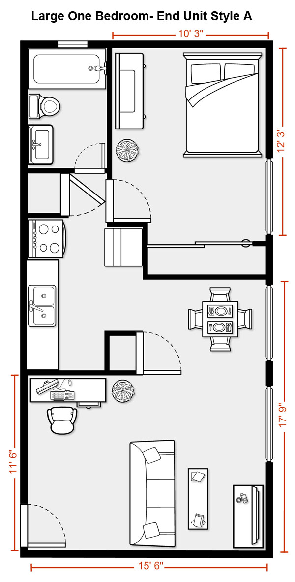 Floor plans of aspen west 39 s suites for Aspen homes floor plans